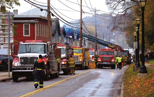 Johnstown provides mutual aid in Fonda