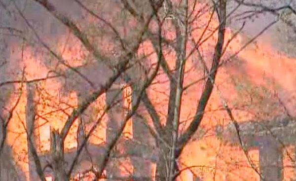 Massive Fire in Johnstown