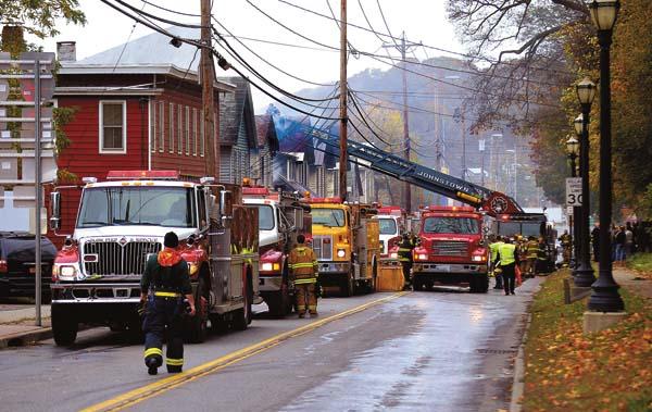 Johnstown provides mutual aid in Fonda